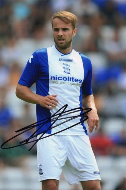 Andrew Shinnie, Birmingham City, signed 6x4 inch photo.